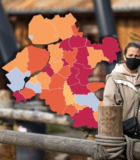 KAART | Relatief veel nieuwe besmettingen in Staphorst, forse daling in Flevoland