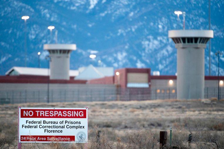 ADX or 'Supermax', in Florence, de best bewaakte gevangenis van de Verenigde Staten en het nieuwe thuisadres van El Chapo. Beeld AFP