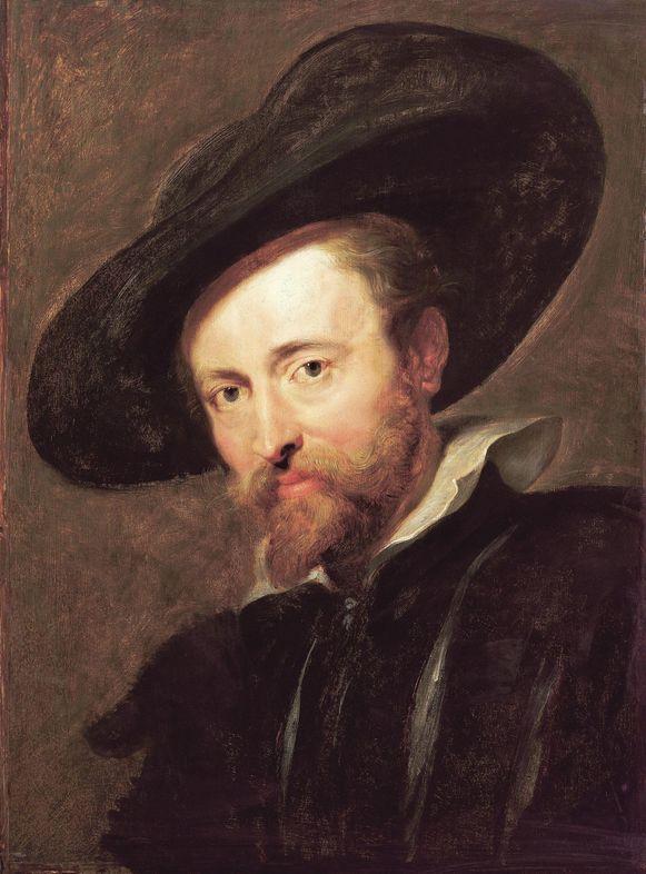 Een zelfportret van Peter Paul Rubens.