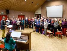 'Vrouwelijke' zangvereniging De Lofstem uit Borculo bestaat 50 jaar