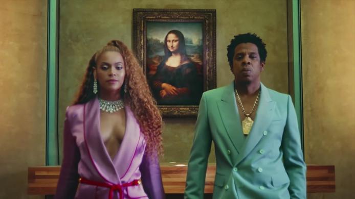Beyoncé en Jay-Z in Apes**t in het Louvre