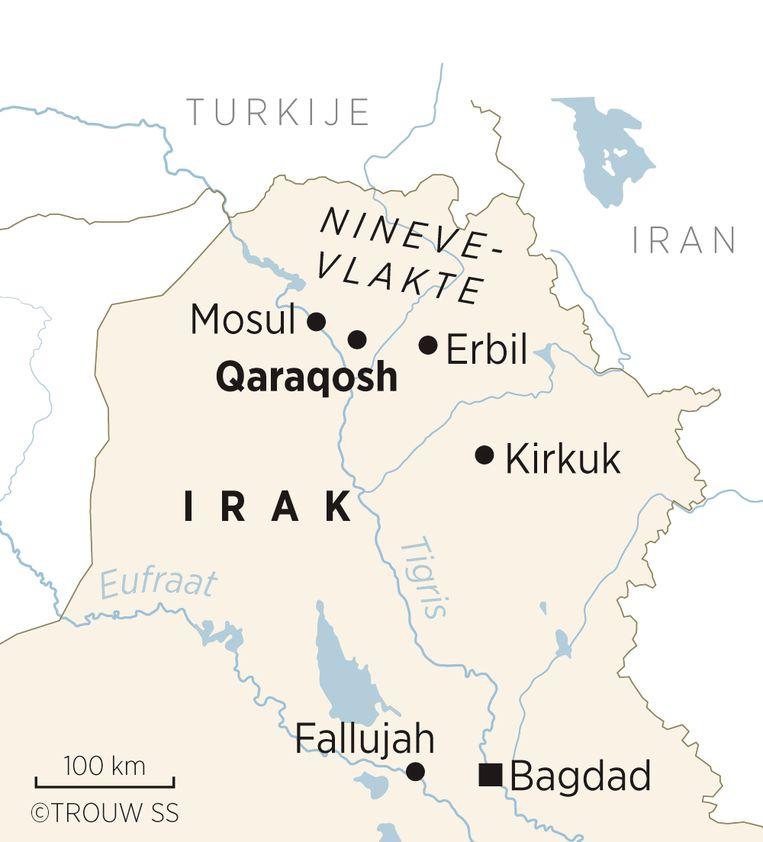 Mosul en Qaraqosh Beeld Trouw