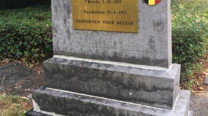 Overleden soldaat krijgt herdenkingsplaatje