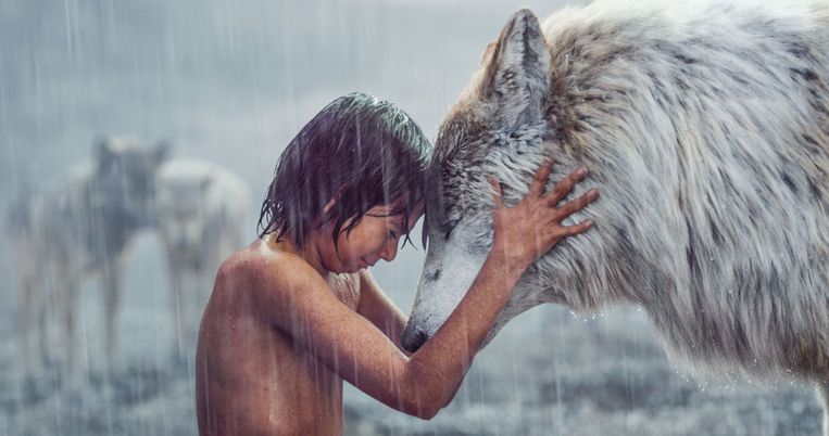 Jungle Book. Beeld Special Effects door Rob Legato