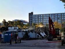 Zeer grote brand verwoest kringloopwinkel in Amsterdam-West