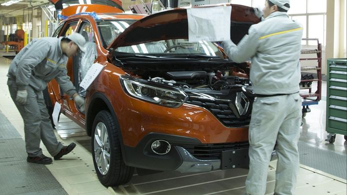Renault-fabriek