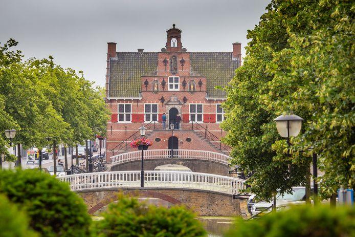 Het Oude Raadhuis in Oud-Beijerland.