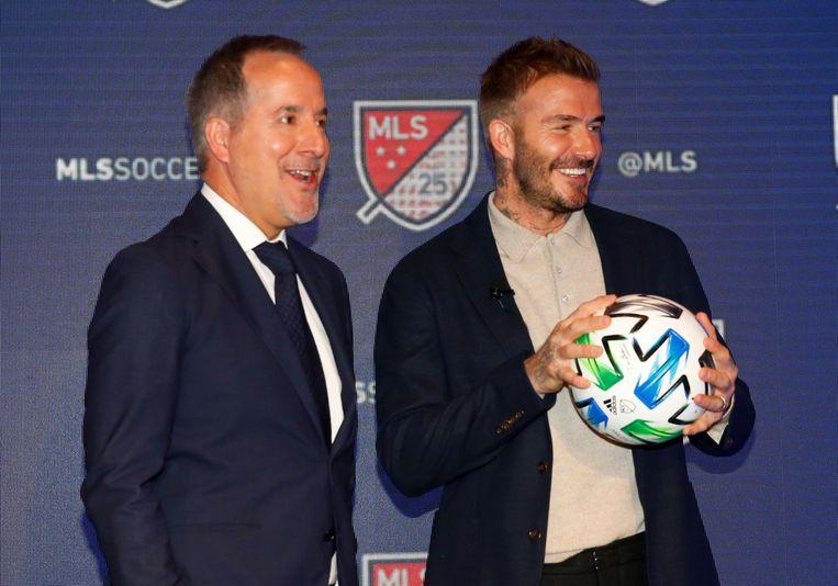 Eigenaars David Beckham en Jorge Mas.