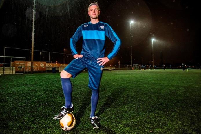 Tom Waltman voetbalt al zijn hele leven bij Dongen.