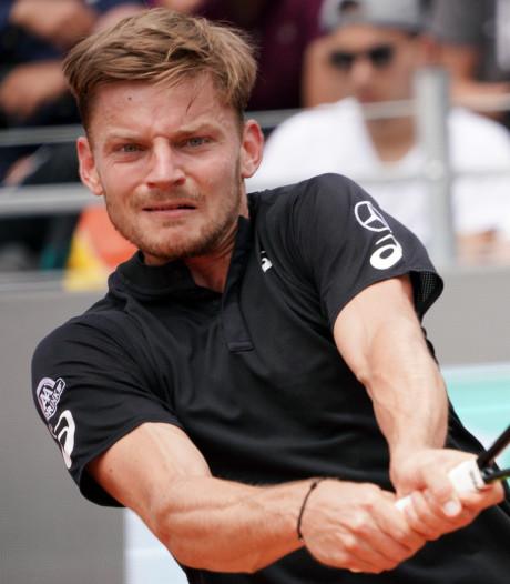 Nouvelle chute pour David Goffin, Nadal dauphin conforté