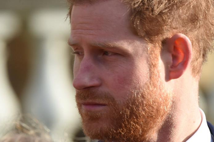 Le Prince Harry, le 16 janvier 2020.