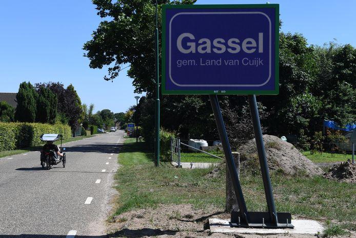 In Gassel lopen ze vooruit. De herindeling gaat aan Grave voorlopig voorbij. Toch staat het al wel groots aangekondigd dat ze bij het Land van Cuijk horen.