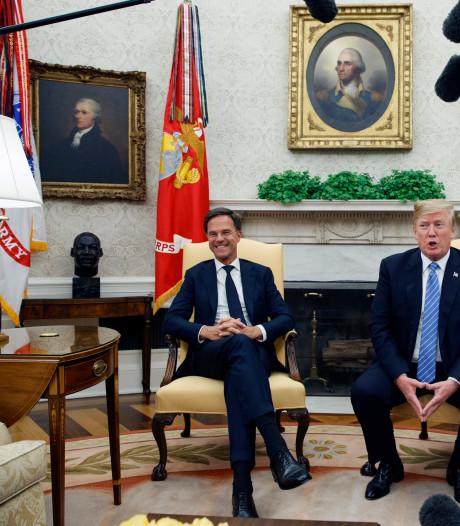 Rutte zal Trump geen beloftes doen over militaire hulp
