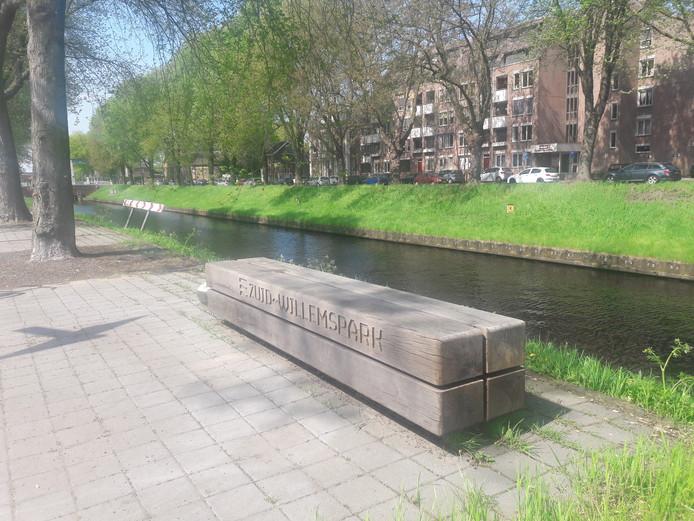 Het gedeelte van de Zuid-Willemsvaart waar binnenkort een testgebied wordt ingericht.