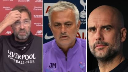"""Klopp en Mourinho niet blij met ontsnapping Man City: """"Een schandalige beslissing"""", Guardiola hekelt critici"""