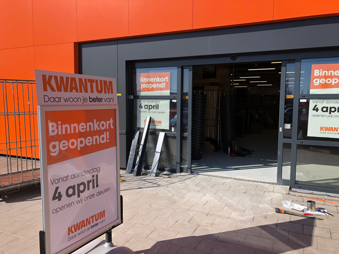 Woonwinkel kwantum keert terug in uden 4 april opening for Kwantum den bosch