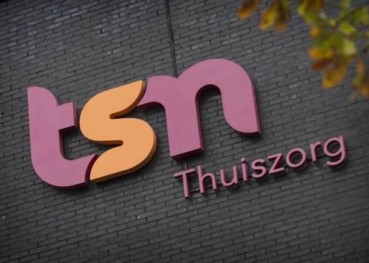 Logo van TSN Thuiszorg, de grootste thuiszorgorganisatie van Nederland.