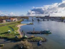 Tweede proef met 'bellenscherm' in IJssel bij Kampen afgeblazen; het is te duur