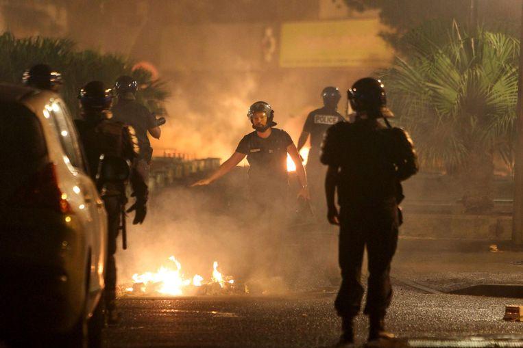 Protesten in La Réunion.