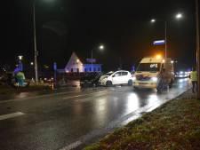 Gewonde bij frontale botsing op Nijmeegsebaan in Groesbeek