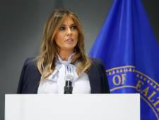 Melania waarschuwt tegen cyberpesten terwijl Trump op Twitter weer flink tekeergaat