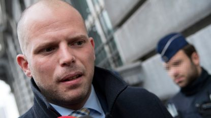 Protestmars tegen komst Theo Francken naar VUB