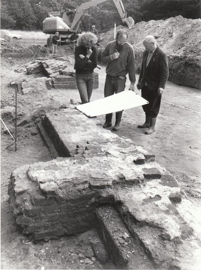 In 1978 wordt in Dommelen een Gotisch kerkje opgegraven.