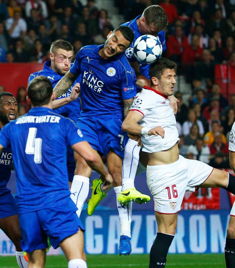 Sevilla spaart machteloos Leicester
