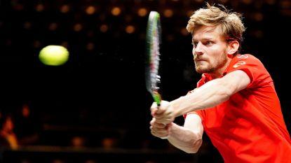 Goffin opent Ultimate Tennis Showdown zaterdag tegen Australiër Popyrin