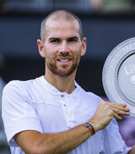 Premier titre ATP à Rosmalen pour le Français Adrian Mannarino, tombeur de David Goffin
