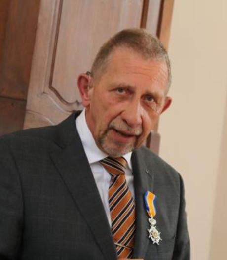 Bernard Luiting uit Eersel koninklijk onderscheiden