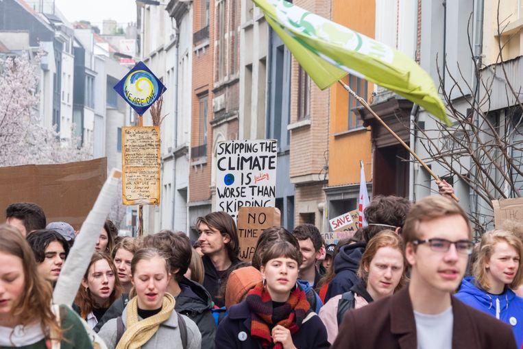 Elfde klimaatmars in Antwerpen