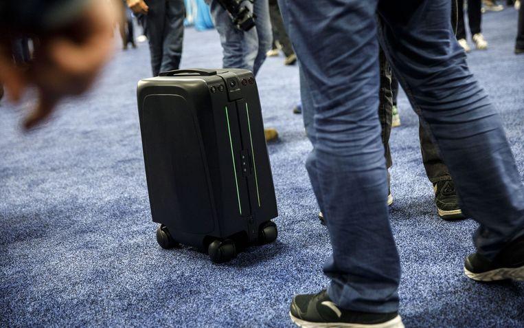 Een reiskoffer die je autonoom achternarijdt op de luchthaven: veel 'frequent travelers' zitten er ongetwijfeld op te wachten.