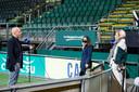 AZ-coach Arne Slot staat FOX Sports te woord rond het duel met ADO Den Haag.