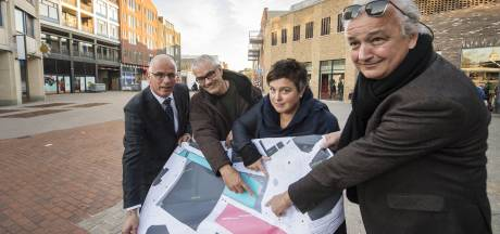 De kunstenaars nemen poolshoogte in Almelo