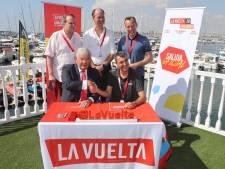 Van Zanen tekent contract La Vuelta, organisatie betaalt 3,25 miljoen