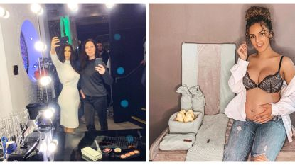 SHOWBITS. Kristel Verbeke meets Kim Kardashian en 'Temptation'-Rodanya toont haar bolle buik