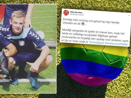 Mike (26) uit Deventer doorbreekt taboe met coming out bij zijn voetbalteam: 'Ik wil een voorbeeld zijn'