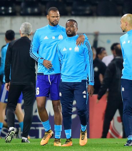 UEFA klaagt Evra aan wegens gewelddadig gedrag