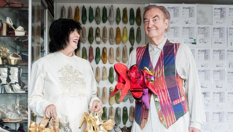 Jan Jansen en zijn vrouw Tonny, met wie hij sinds zijn zeventiende samen is. Beeld Charlotte Visser