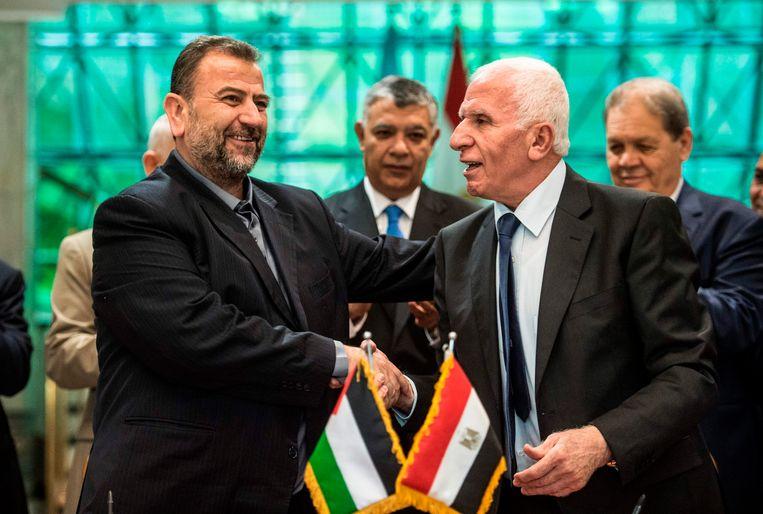 Hamas Palestijnse Regering Blokkeert Verzoening De Morgen