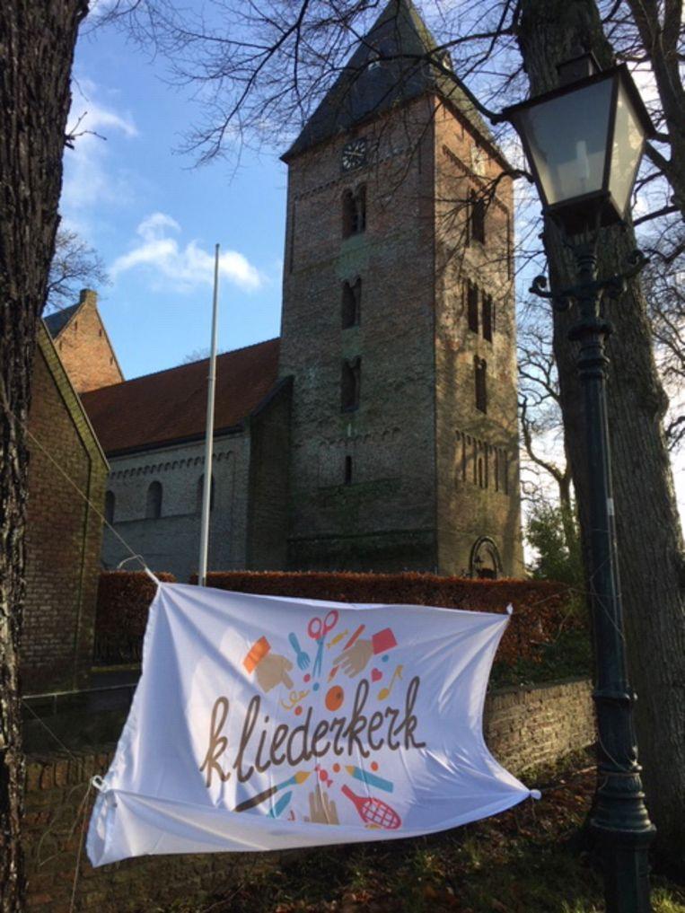 Kliederkerk in Vries. Beeld
