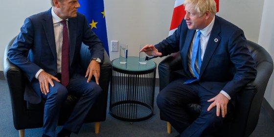 Johnson vraagt 'meer soepelheid van Europeanen bij brexitonderhandelingen'