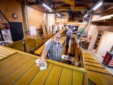 Enterse Waarf en botenhuis bij Pelmolen flink aangepakt