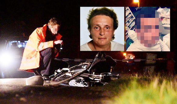 De 71-jarige fietsster Eliane Cardinael werd doodgereden door haar 29-jarige buurman.