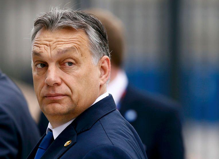 Viktor Orban, eerste minister van Hongarije