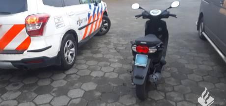 Twee minderjarigen opgepakt in Waalwijk voor heling scooter