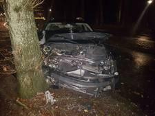 Auto botst tegen boom in Eerbeek