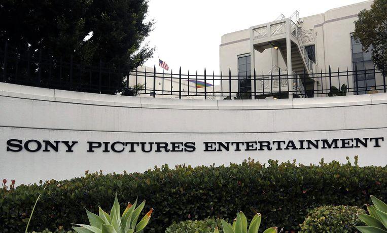 Het hoofdkantoor van Sony in Culver City, California. Beeld null