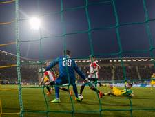 ME grijpt twee keer in rond ADO - Feyenoord